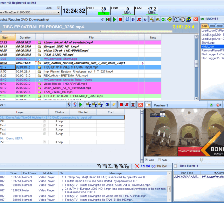 DV Play | Playout automation for TV Channels since 2001