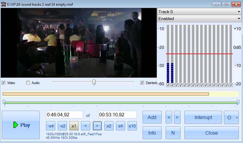 Empty_Sound_Tracks | DV Play | Playout TV software | TV Automation