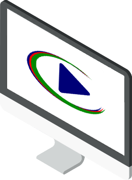 Logo of DV Play tv automation software